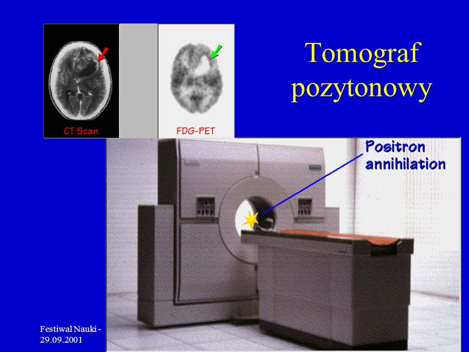 Tomograf pozytonowy Festiwal Nauki - 29.09.2001