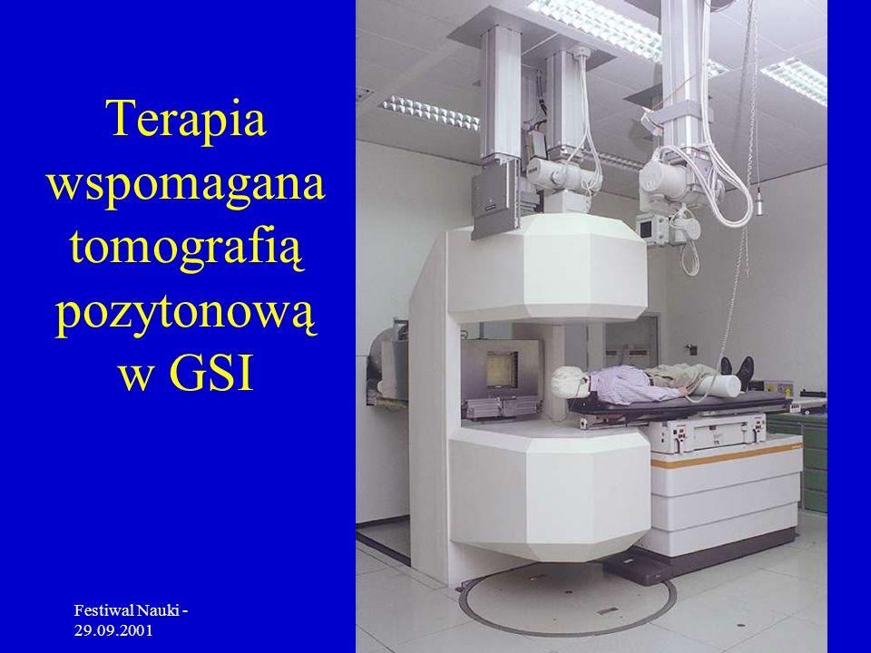 Terapia wspomagana tomografią pozytonową w GSI