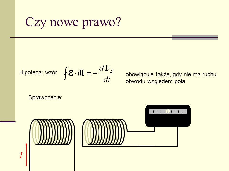 Czy nowe prawo I Hipoteza: wzór