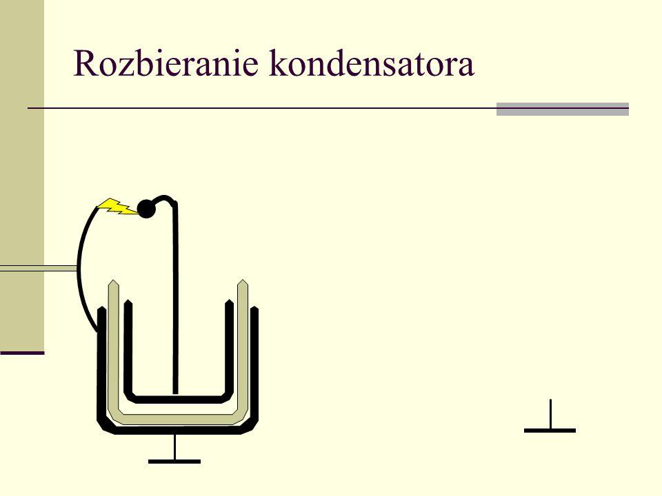 Rozbieranie kondensatora