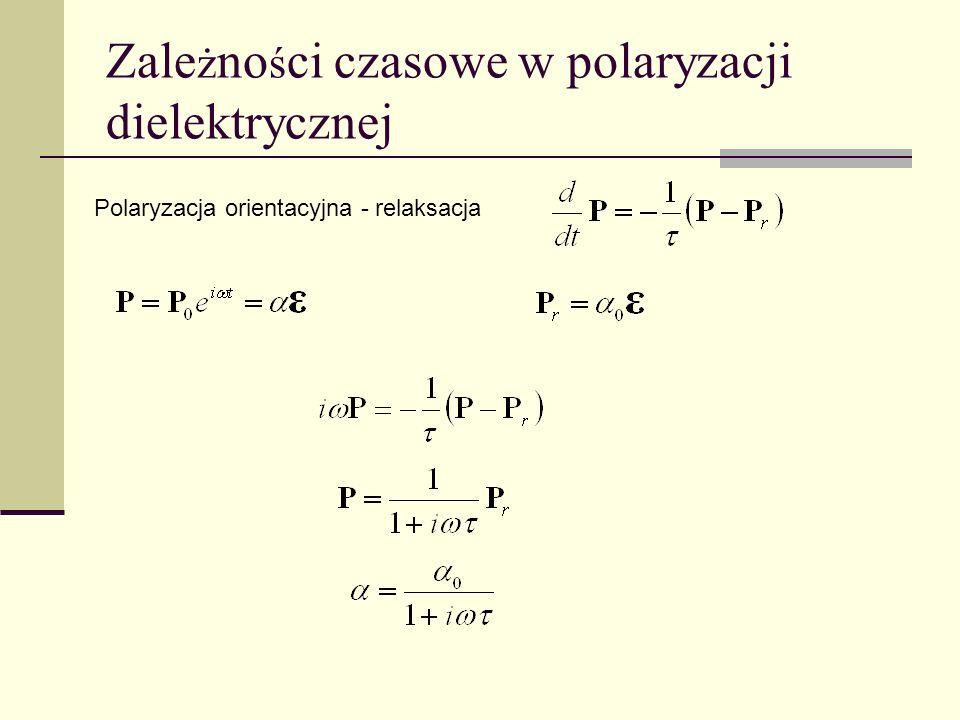 Zależności czasowe w polaryzacji dielektrycznej