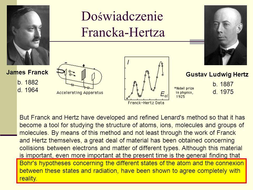 Doświadczenie Francka-Hertza