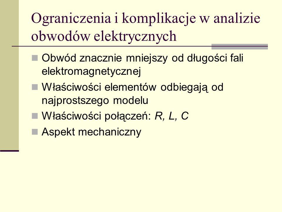 Ograniczenia i komplikacje w analizie obwodów elektrycznych