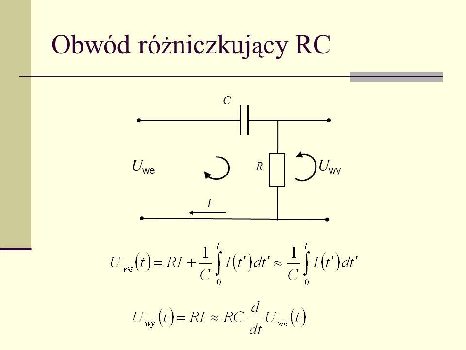 Obwód różniczkujący RC