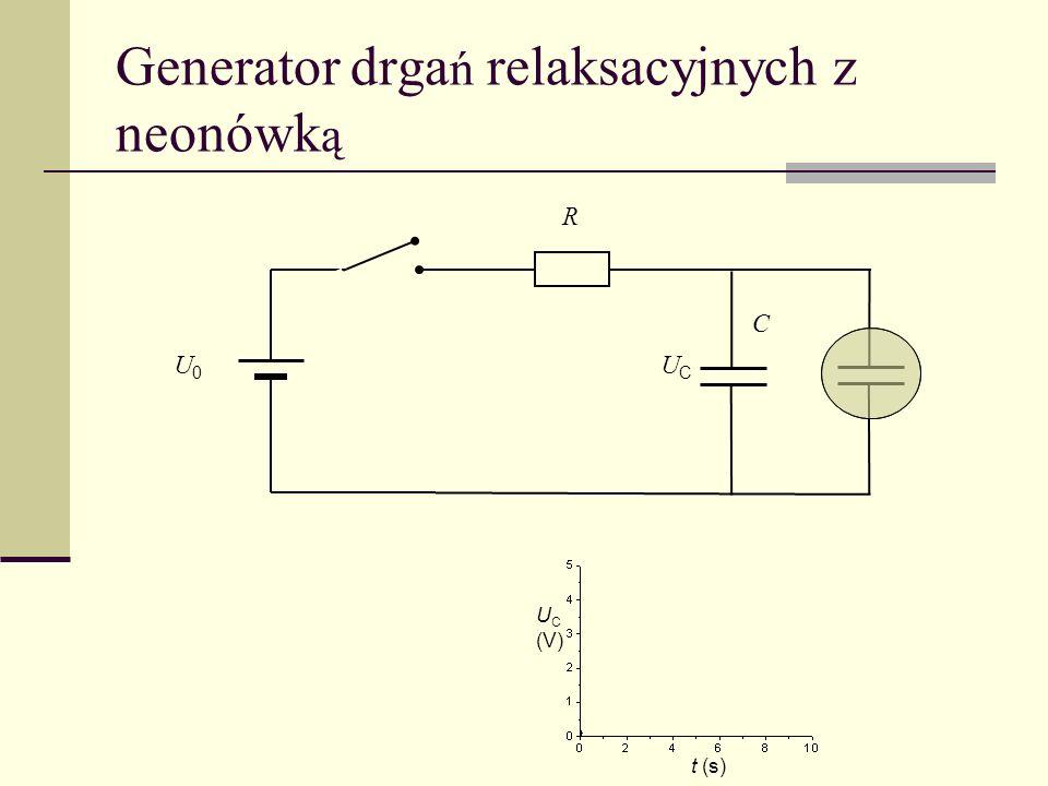 Generator drgań relaksacyjnych z neonówką