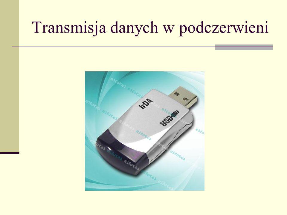 Transmisja danych w podczerwieni