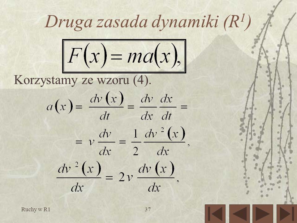 Druga zasada dynamiki (R1)
