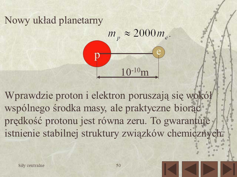 p Nowy układ planetarny e 10-10m