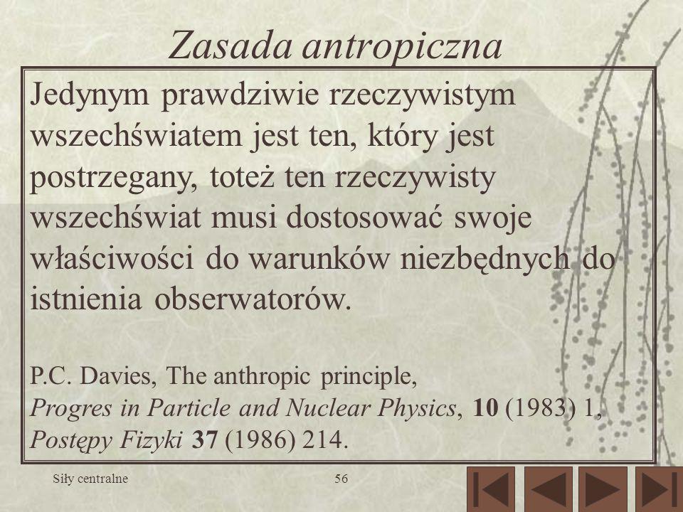 Zasada antropiczna