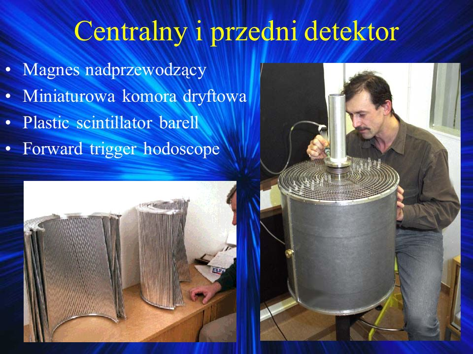 Centralny i przedni detektor