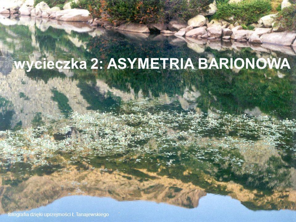 wycieczka 2: ASYMETRIA BARIONOWA