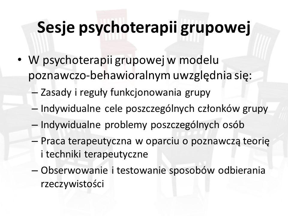 Sesje psychoterapii grupowej