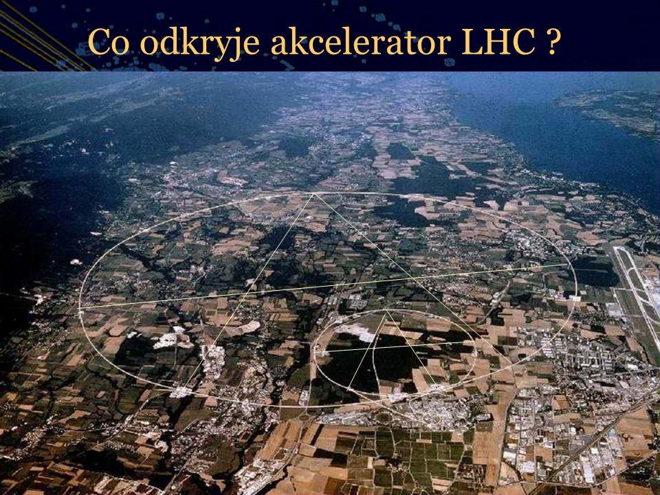 Co odkryje akcelerator LHC
