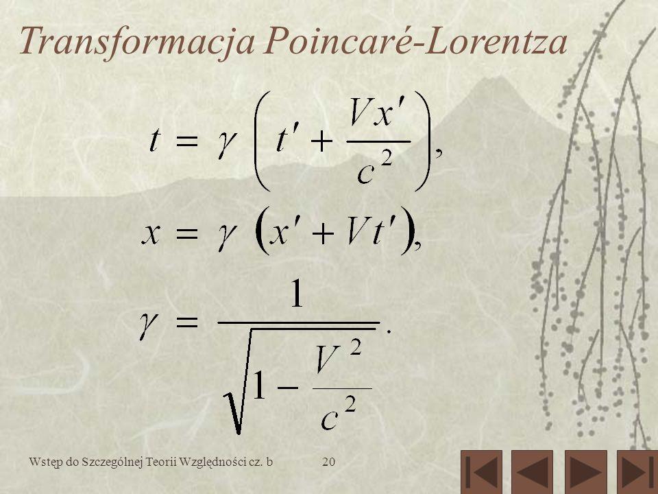 Transformacja Poincaré-Lorentza