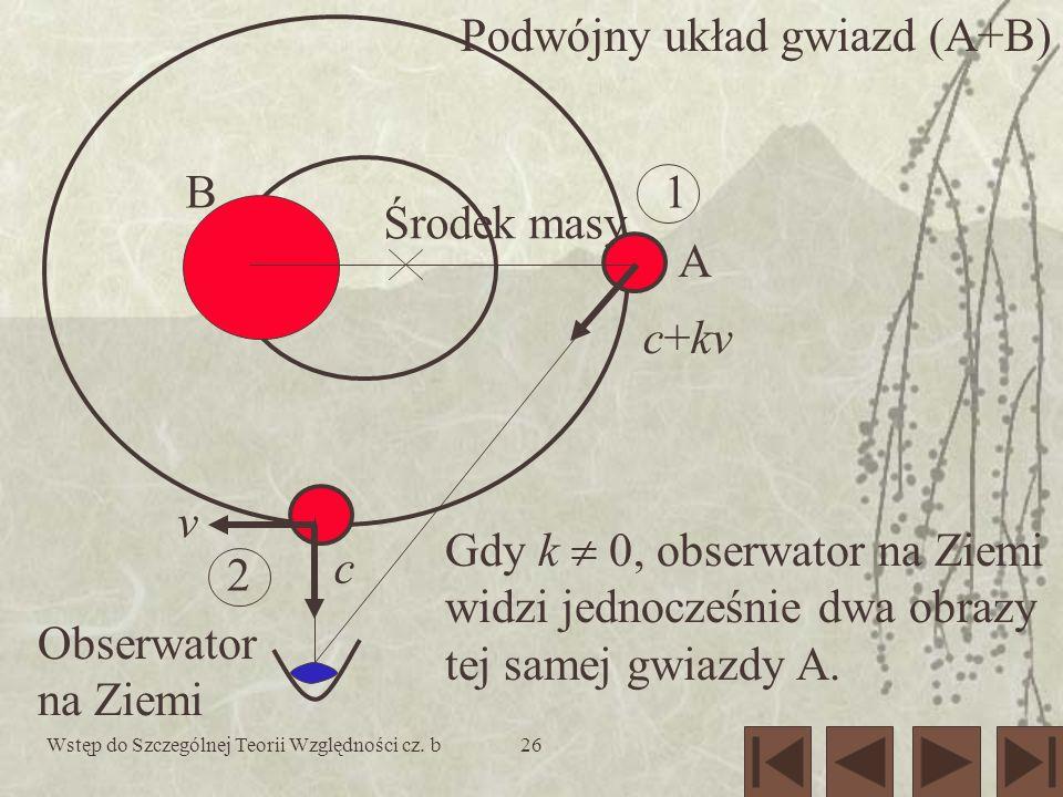 Podwójny układ gwiazd (A+B)