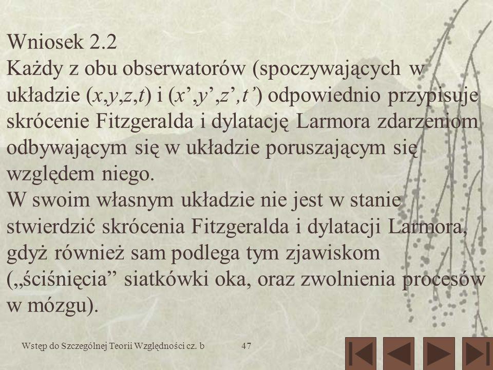 Wniosek 2.2