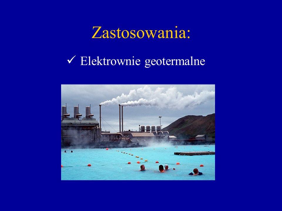 Zastosowania: Elektrownie geotermalne