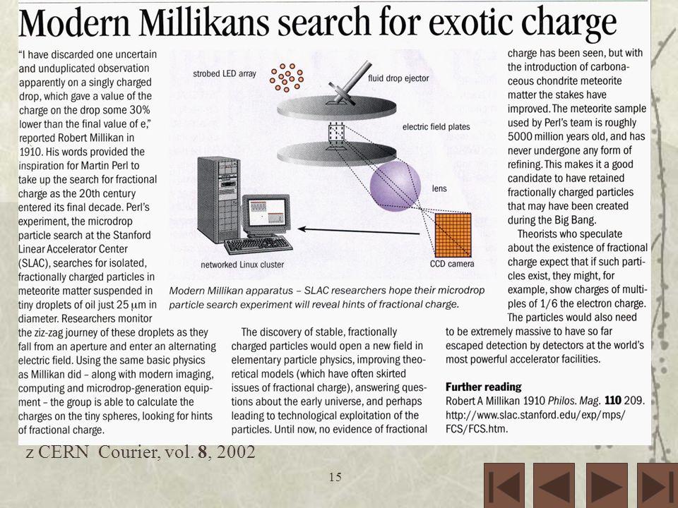 z CERN Courier, vol. 8, 2002