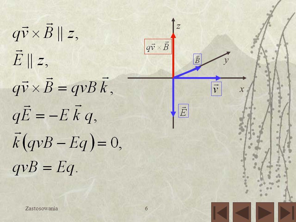 x y z Zastosowania