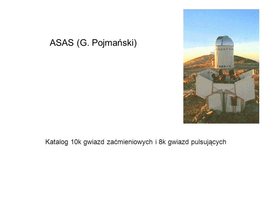 Katalog 10k gwiazd zaćmieniowych i 8k gwiazd pulsujących