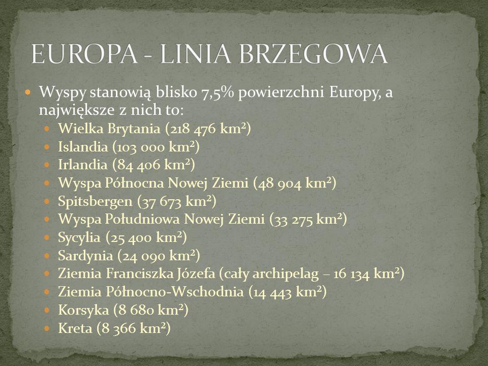 EUROPA - LINIA BRZEGOWA