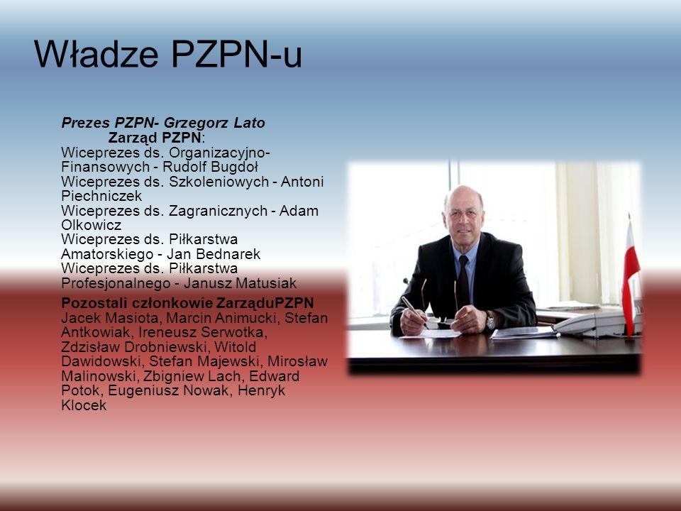 Władze PZPN-u