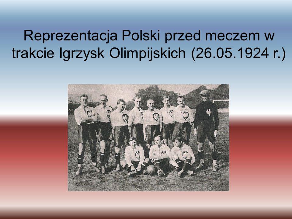 Reprezentacja Polski przed meczem w trakcie Igrzysk Olimpijskich (26