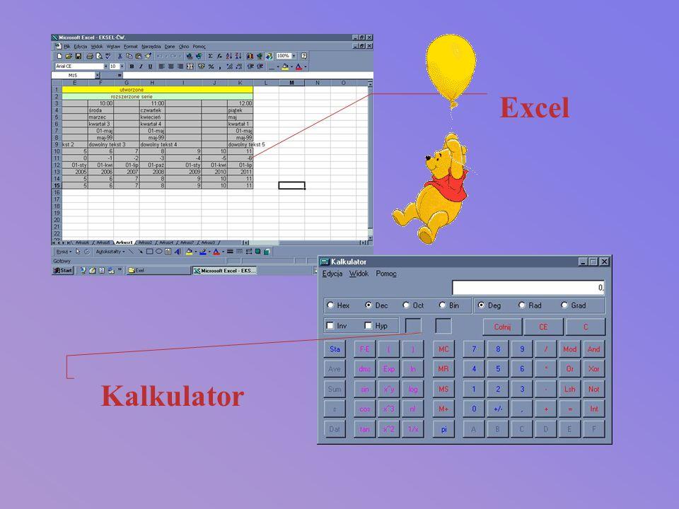 Excel Kalkulator