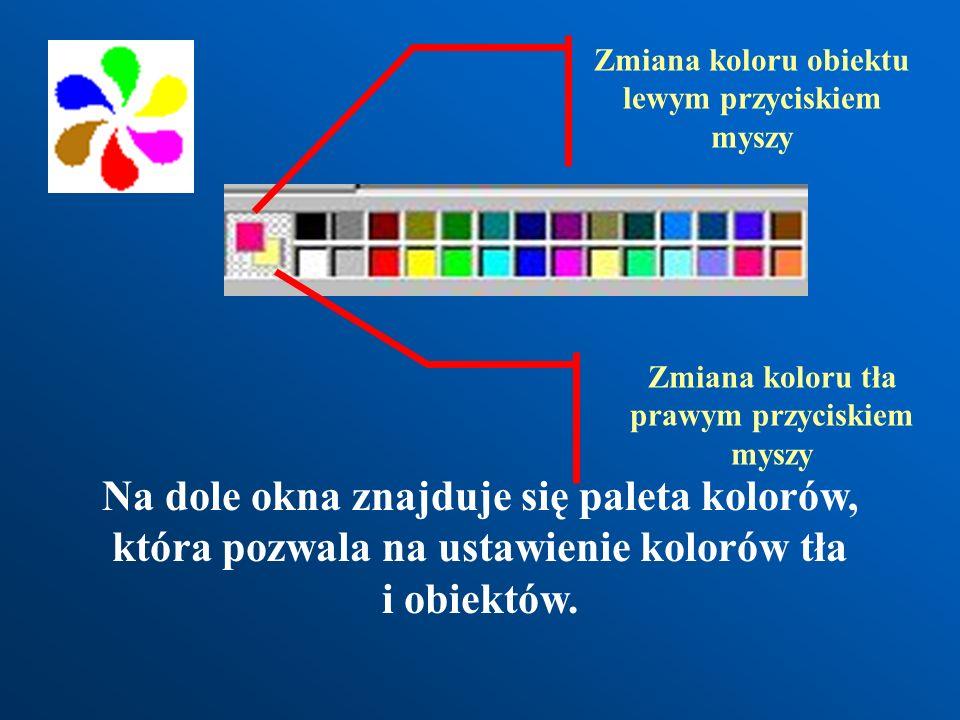 Zmiana koloru obiektu lewym przyciskiem myszy