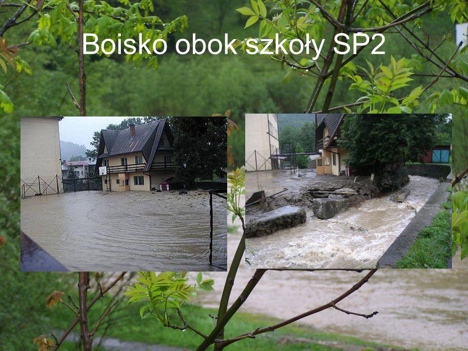Boisko obok szkoły SP2