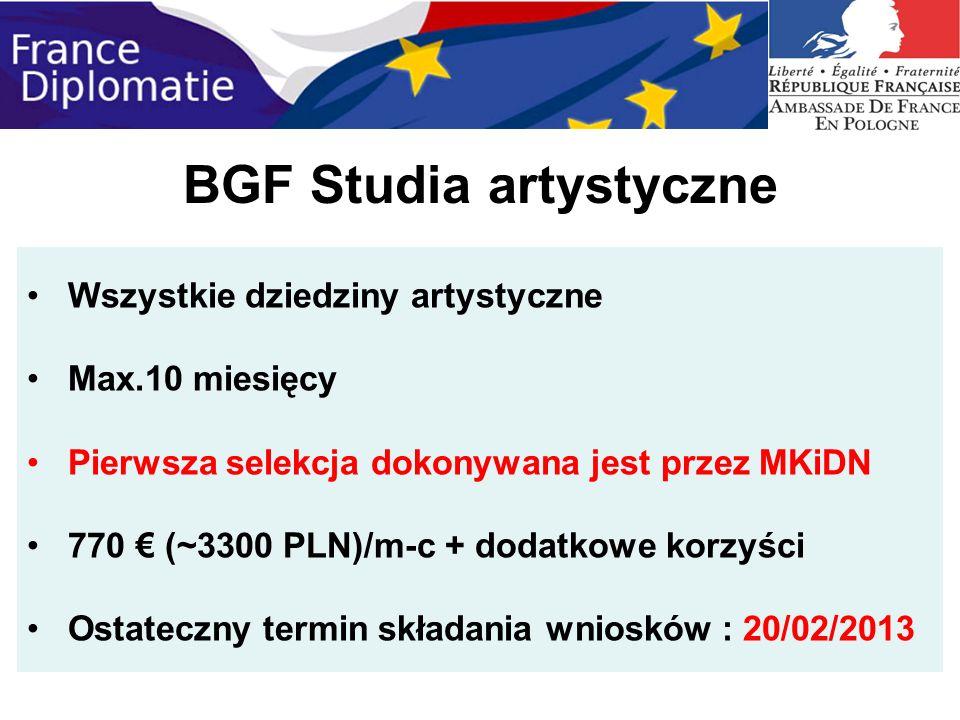 BGF Studia artystyczne