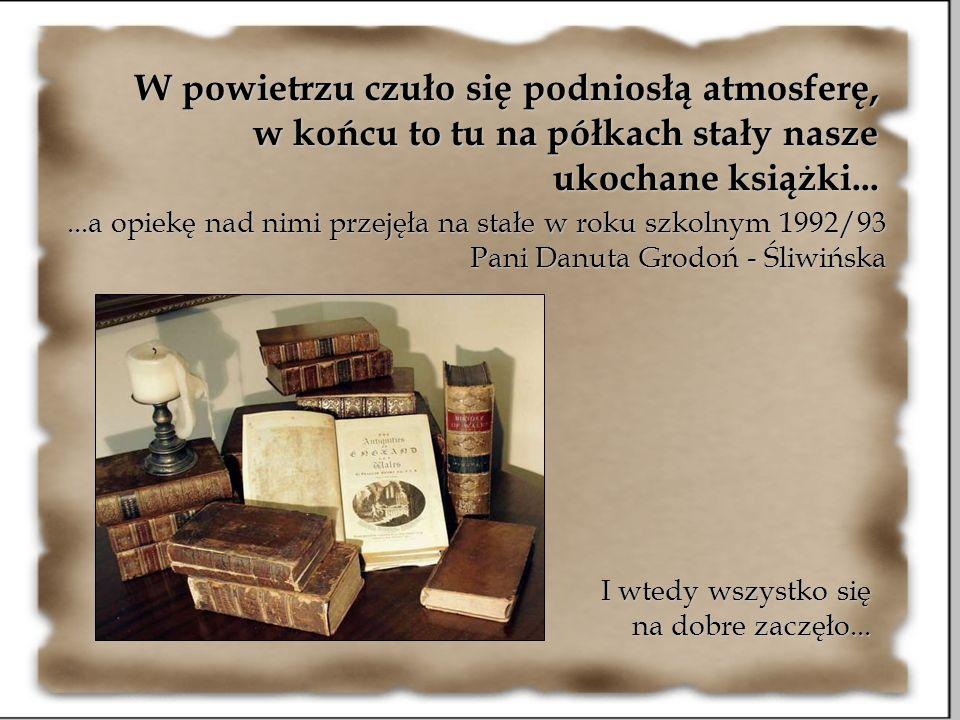 W powietrzu czuło się podniosłą atmosferę, w końcu to tu na półkach stały nasze ukochane książki...