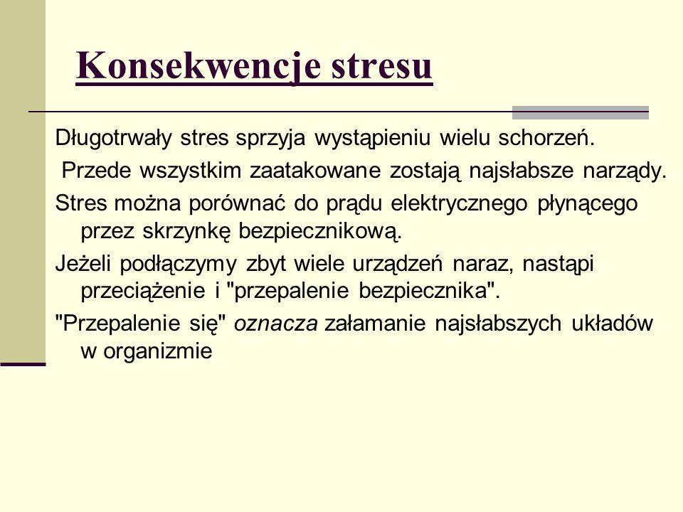 Konsekwencje stresu