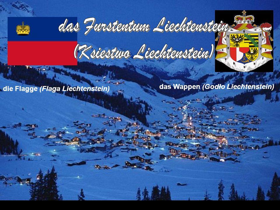 das Furstentum Liechtenstein (Ksiestwo Liechtenstein)