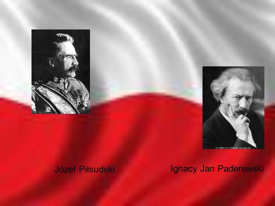 Józef Piłsudski Ignacy Jan Paderewski
