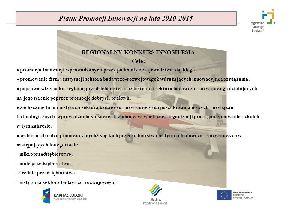 Planu Promocji Innowacji na lata 2010-2015
