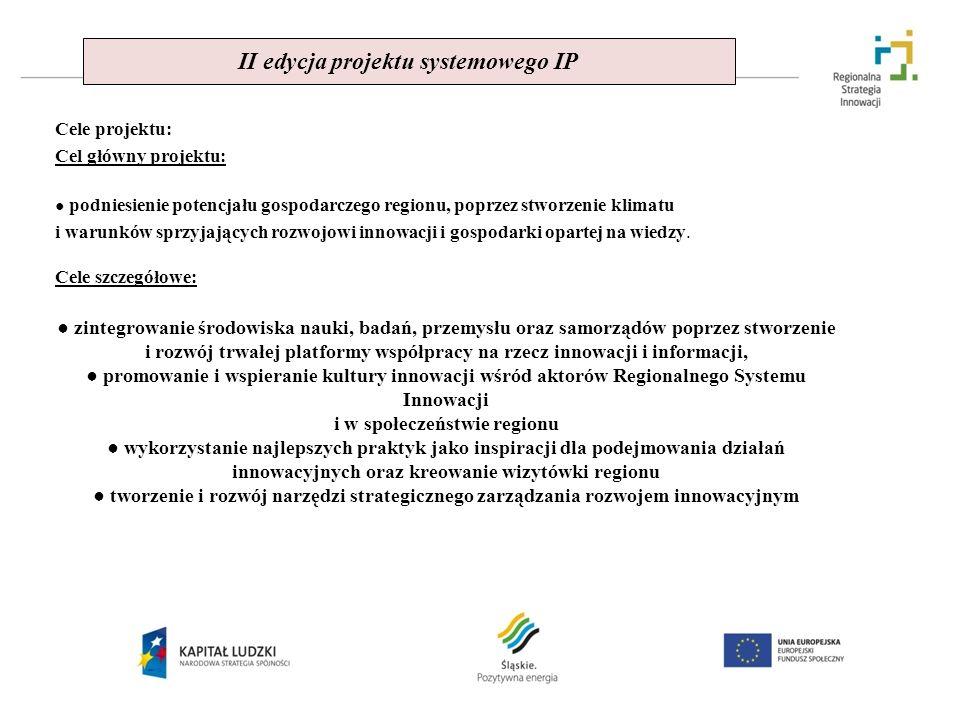 II edycja projektu systemowego IP