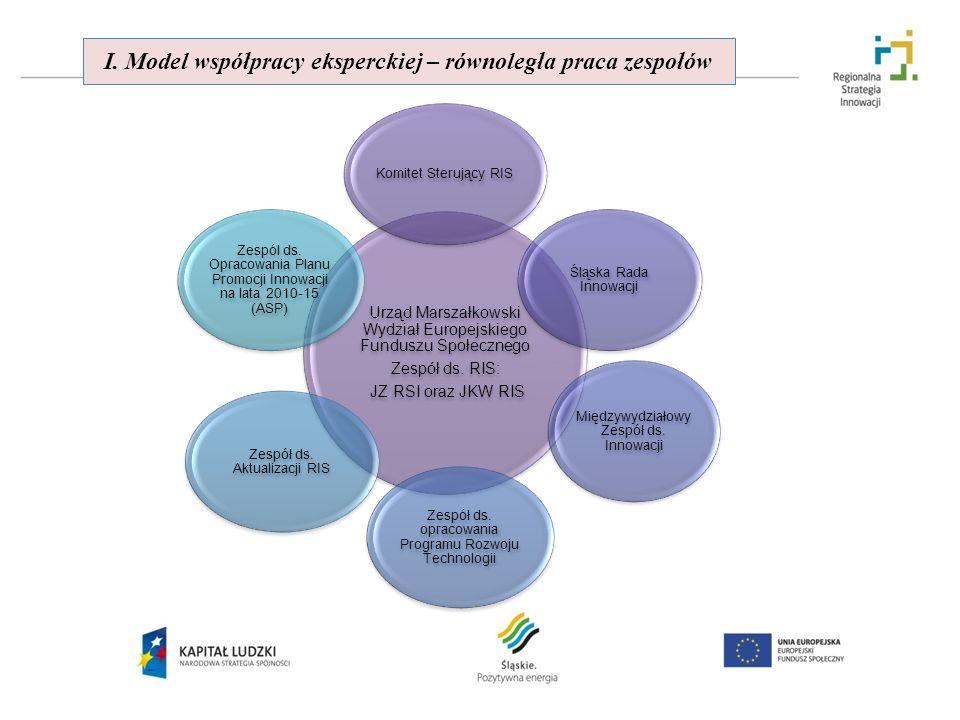 I. Model współpracy eksperckiej – równoległa praca zespołów