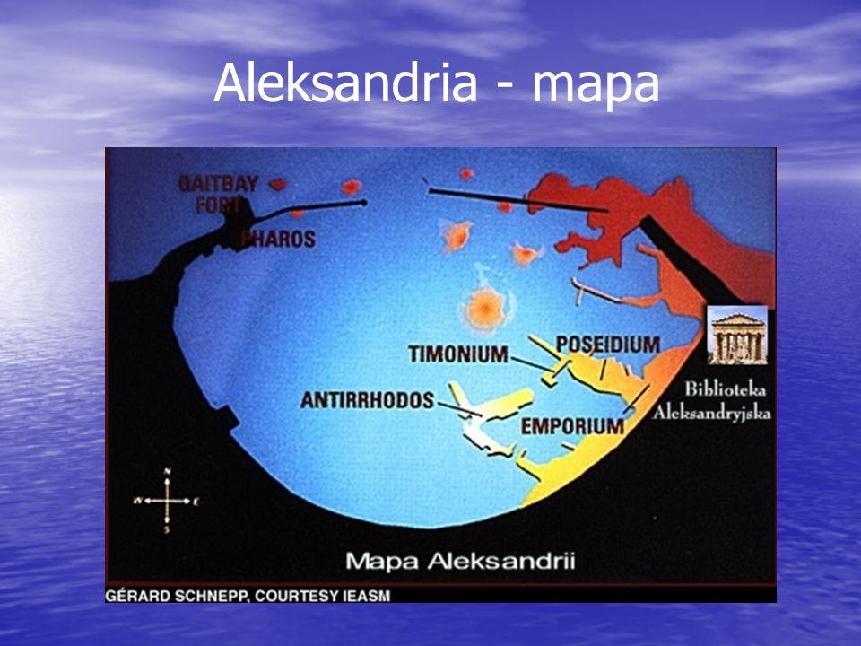 Aleksandria - mapa