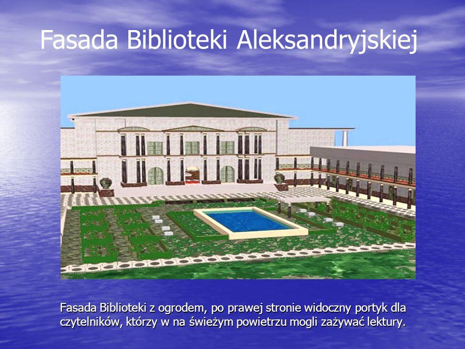 Fasada Biblioteki Aleksandryjskiej