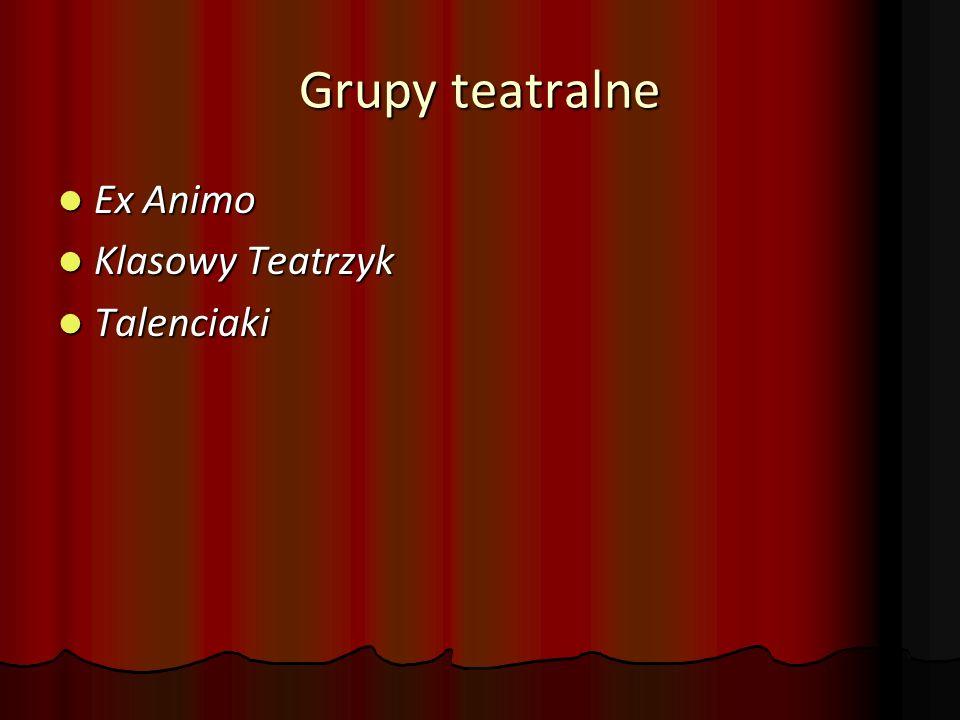 Grupy teatralne Ex Animo Klasowy Teatrzyk Talenciaki