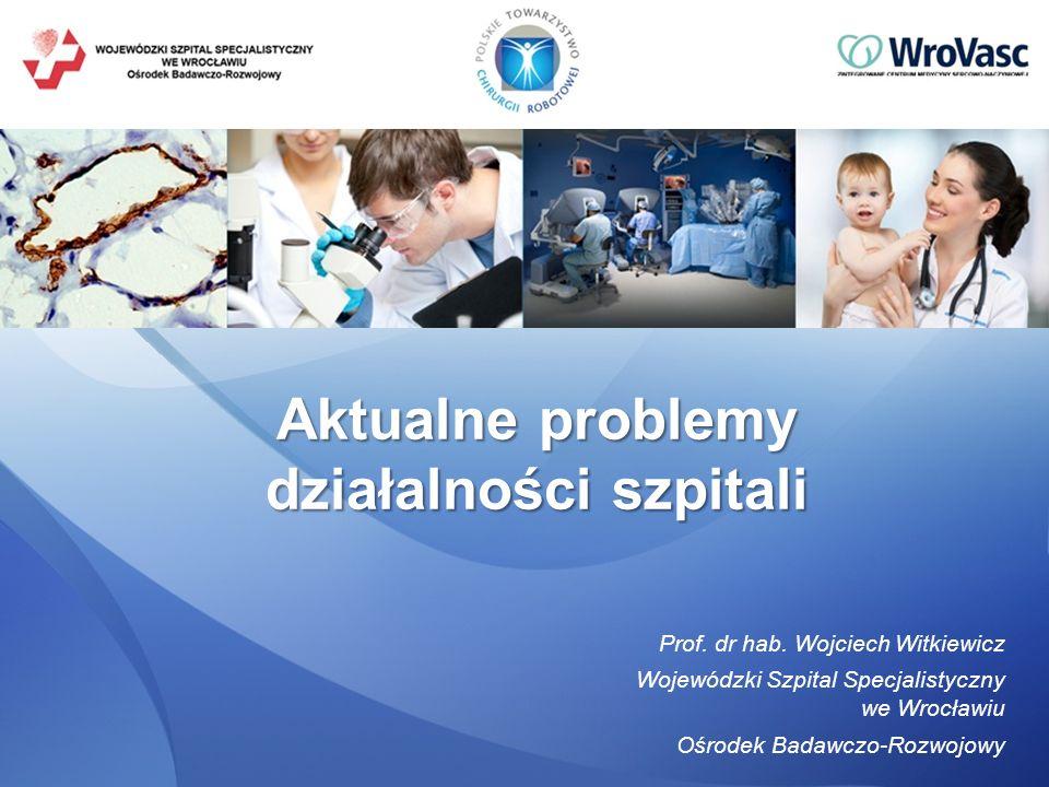 Aktualne problemy działalności szpitali