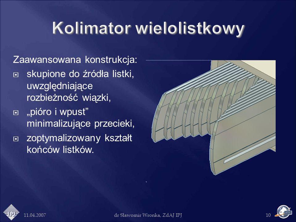 Kolimator wielolistkowy