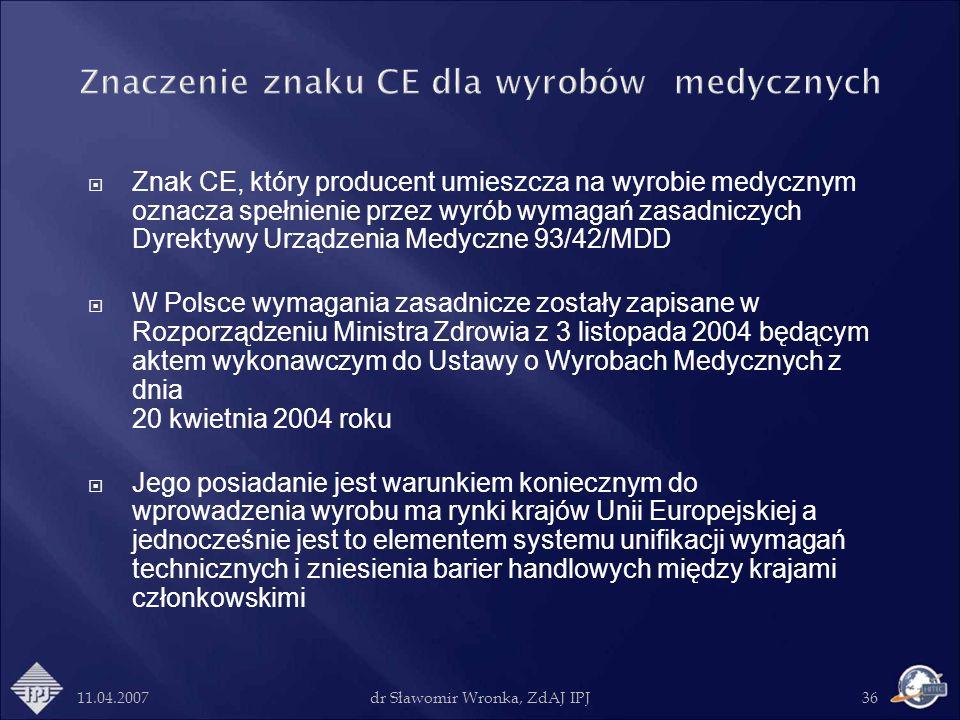 Znaczenie znaku CE dla wyrobów medycznych