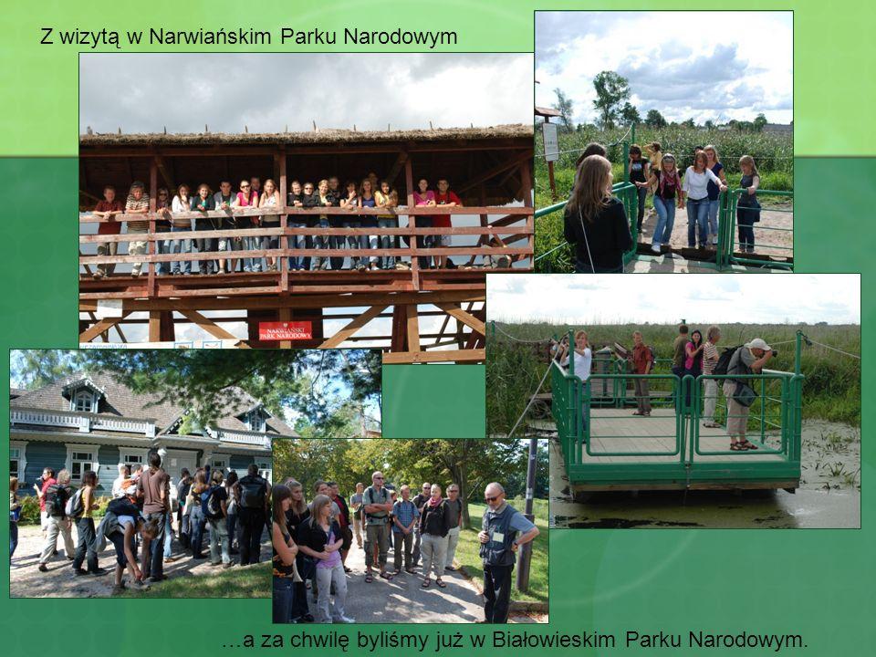 Z wizytą w Narwiańskim Parku Narodowym