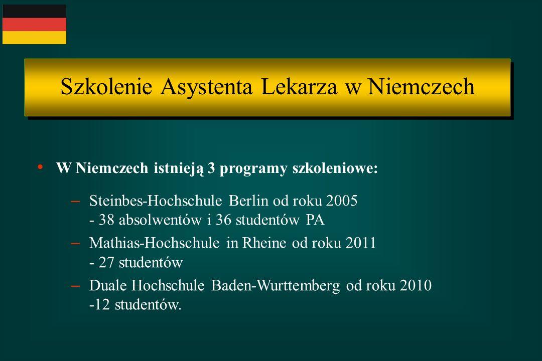 Szkolenie Asystenta Lekarza w Niemczech