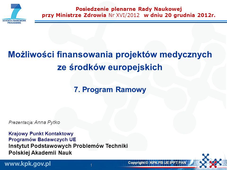 Możliwości finansowania projektów medycznych ze środków europejskich