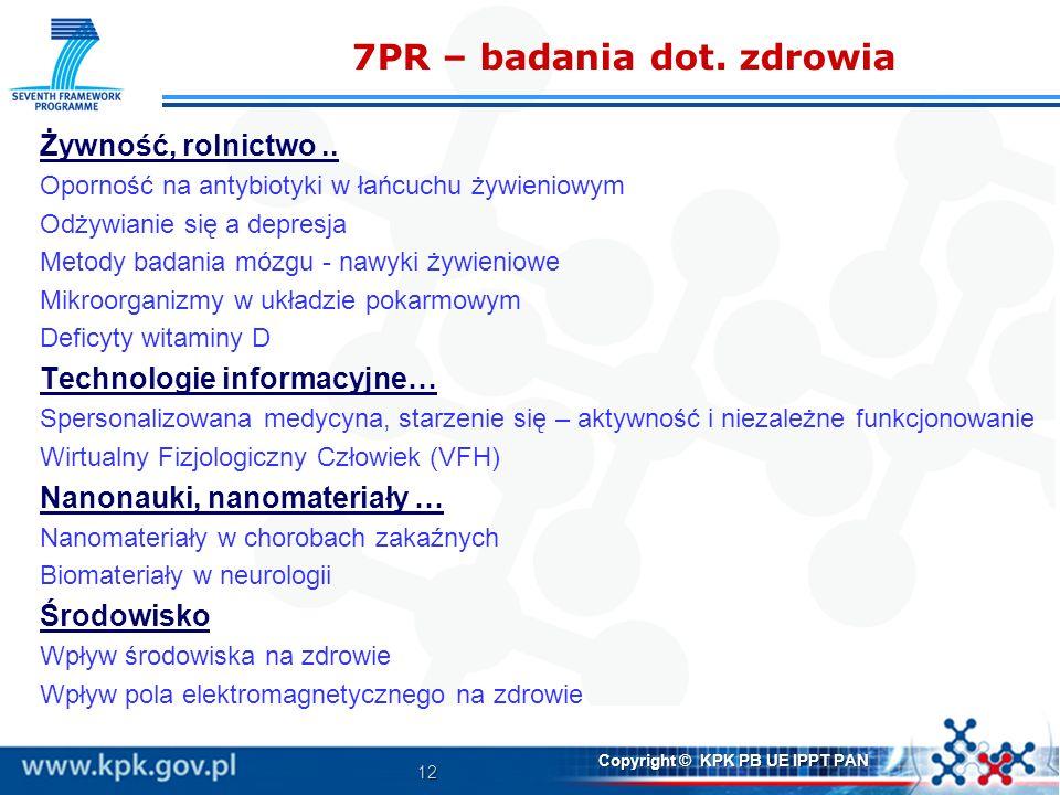 7PR – badania dot. zdrowia