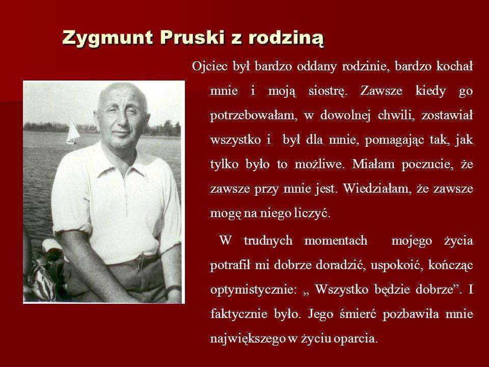 Zygmunt Pruski z rodziną
