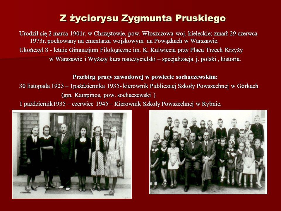 Z życiorysu Zygmunta Pruskiego